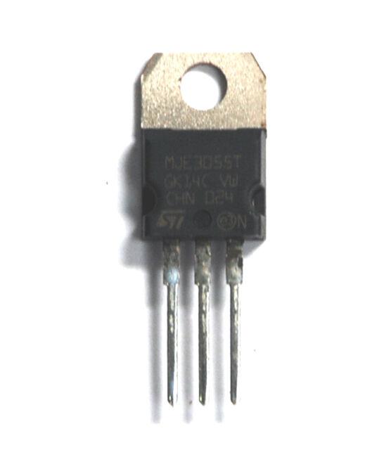 1 pc of MJE3055T MJE3055 3055 NPN Transistor 10A 60V