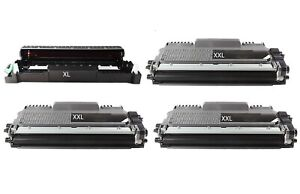 3-XL-Toner-Tambour-compatible-pour-Brother-mfc-7320-HL-2140-2150-N-2170-N