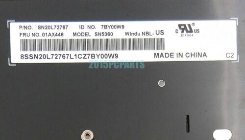 Genuine New US Keyboard for Lenovo Thinkpad T470 20HD 20HE 20JM 20JN 01AX446