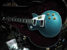 2015 Gibson Bonabyrd Signed by Bonamassa Les Paul Body Pelham Blue 9.25 lbs *571