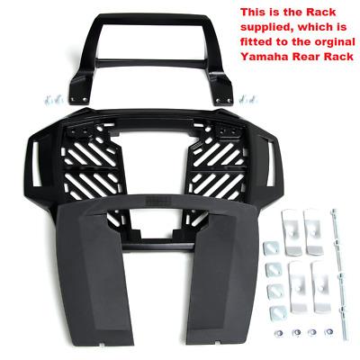 Yamaha XT 600 Ténéré 1986-87 Alurack Topcase Carrier Black Fits On Original Rack