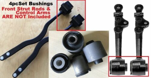 4PC BUSHING 4 ROD /& CONTROL ARM FOR 1995-2000 LEXUS LS400 FAST SHIPPING