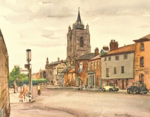 St from Bethel Street NORWICH By Russell Reeve 1947 Peter Mancroft Norfolk