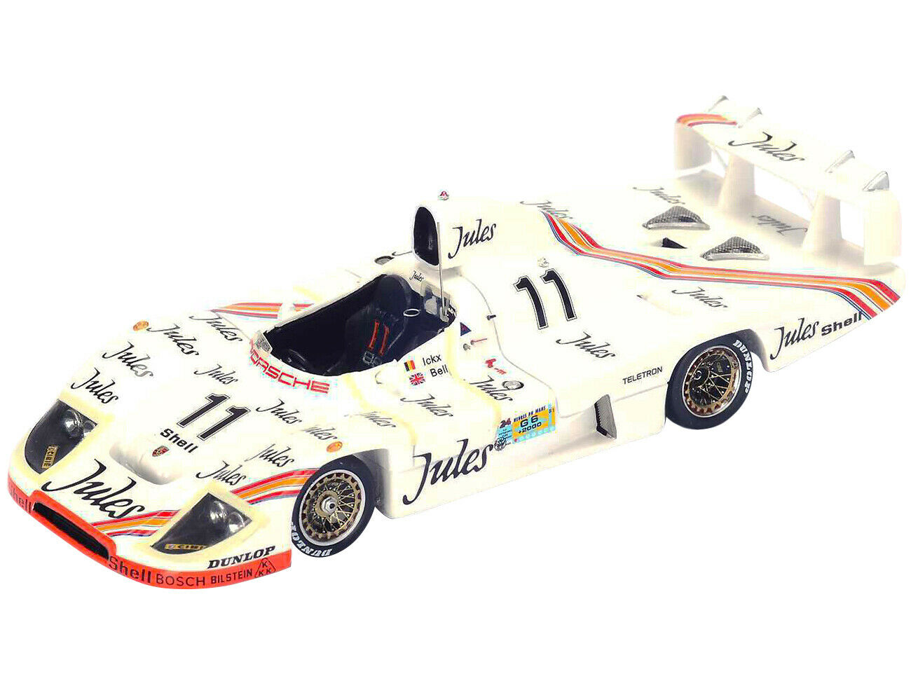 Porsche 936 Vainqueur Le mans 1981 n° 11 Jules 1//43 Spark MAP02028113