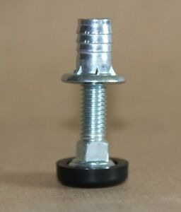 4xrotary m8 threaded adjustable furniture feet kitchen wobbly fix 25mm nuts ebay - Threaded furniture feet ...