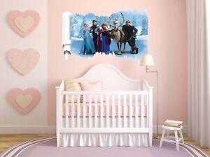 Mural-Sticker-Chambre-Enfant-Disney-Frozen-Elsa-et-amis-67-x-47-w222