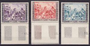LAOS-1954-Luang-Prabang-Complete-set-NHXF-White