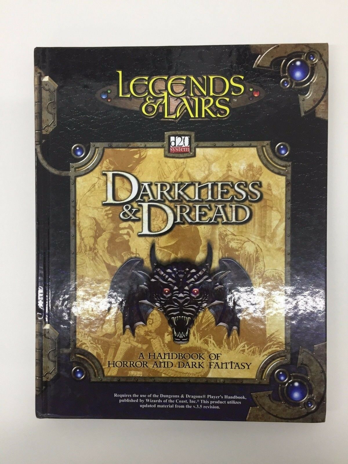 Dungeons & Dragons Legends & Lairs Fisterniss & Dread D20 System TSR Ffg D & Rpg