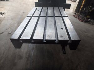 33 25 Quot X 21 5 Quot X 2 Quot Steel Welding T Slotted Table Cast