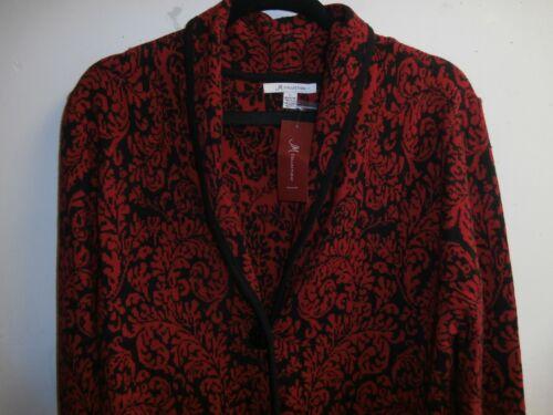 14 nero Collection Blazer Nwt Jm Taglia Rosso Maglione OSvTMqa