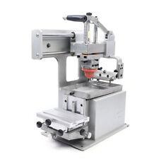 80x120mm Manual Pad Printing Machine Diy Dates Number Sign Logo Printer
