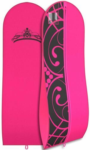 "Gown Garment Bag for Women Bridal Dresses Folding Loop ID 72""x 24/"" Tiara"