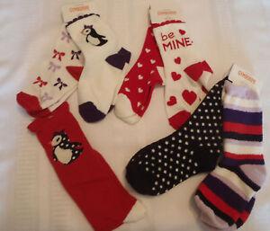 NWT Gymboree Girls Winter Penguin Cozy Socks Size 3-4 /& 5-7