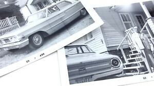 1964-Ford-Galaxie-Model-Classic-Automobile-Car-Vehicle-Photographs-Vintage-H051
