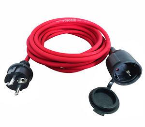 strom verl ngerungskabel aussen innen stromkabel verl ngerung kabel garten haus ebay. Black Bedroom Furniture Sets. Home Design Ideas