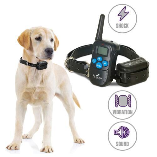 No Bark Dog Training Electric E Shock Collar Waterproof PET998 2019 UPGRADED US