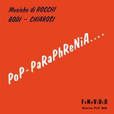 Rocchi - Godi - Chiarosi  Pop-Paraphrenia LP Sonor Music Editions Library Music