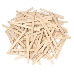4.5 Length. 100 Pack Wood Craft Stir Sticks
