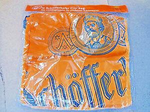 Schoefferhofer-Bier-Brauerei-Umhaengetasche-Tasche-Tragetasche-orange-35x33cm