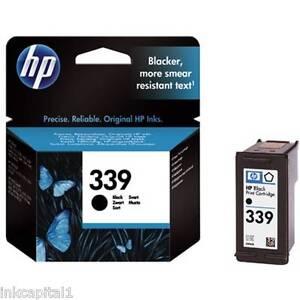 HP-no-339-NEGRO-ORIGINAL-OEM-Cartucho-de-Tinta-C8767EE-Deskjet