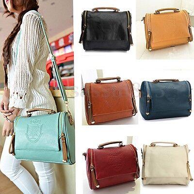 Lady Women Leather Shoulder Crossbody Bag Handbag Tote Messenger Satchel Purse