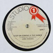 "Lone Ranger ""Keep On Coming In The Dance"" Reggae 12"" Studio One mp3"