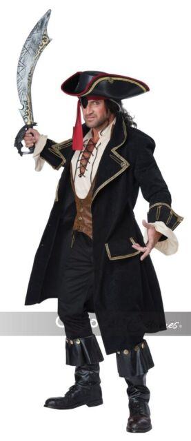 California Costumes Deluxe Pirate Captain Adult Mens Halloween Costume 01397