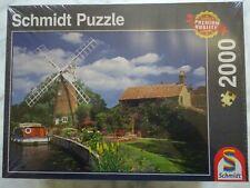 Schmidt Spiele Puzzle 58331 Unterwegs mit dem Hausboot 2000 Teile