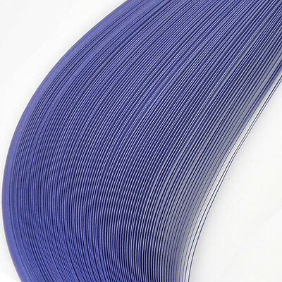 100 Quilling paper strips  5mm wide lilac