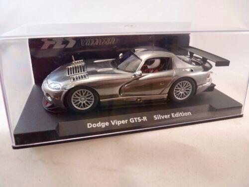 88178 FLY CAR MODELS 1//32 SLOT CARS CHRYSLER VIPER GTS-R SILVER EDITION  E-650