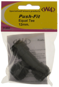 W4 Push Fit Equal Tee 12mm 31202