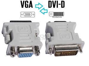 Adaptateur-Convertisseur-de-prise-DVI-D-vers-VGA-Pour-cable-ecran-carte