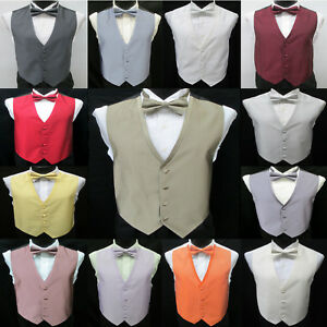 ce809fde0b92 Jean Yves Diamond Fullback Tuxedo Vest & Tie Choice Formal Wedding ...