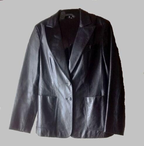 10 par taille noir en cuir Veste femmes 9 pour Express w4SBXBq