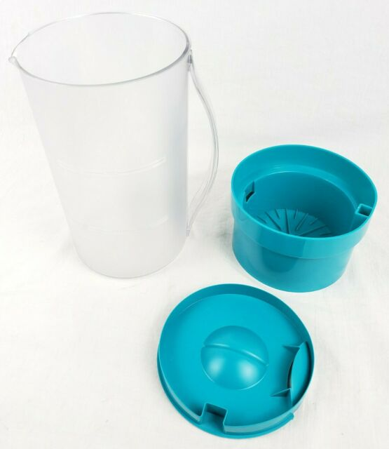 MR. COFFEE Replacement 2 Quart Iced Tea Pitcher / Brew Basket and Lid Teal Green | eBay