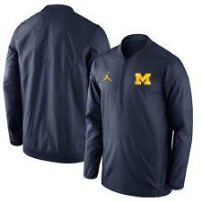 Michigan Wolverines Jordan 465 Icon Fleece Jacket Full Zip