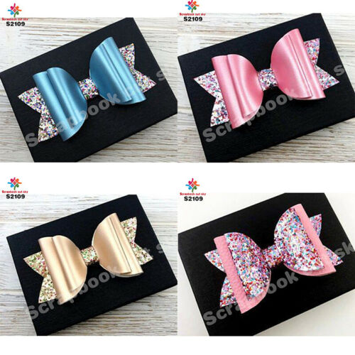 1 Leather Bow Cutting Dies Wooden Die for Scrapbooking Thick S2109-3