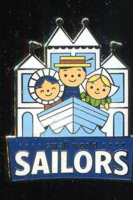 DLR Disneyland Mascots Mystery Pack Small World Sailors Disney Pin 116186