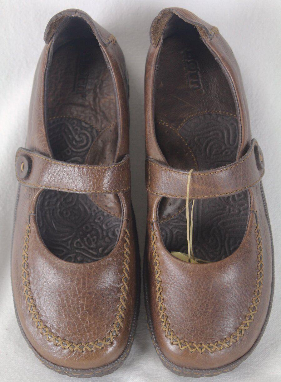 Nacido de Cuero Marrón Castaño Nadaleen Zapatos de plataforma M M M w Nuevo En Caja  Esperando por ti