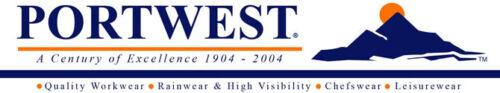 HI VIS Fleece Work Jacket Warm Mesh Lined High Visibility coat Portwest F301