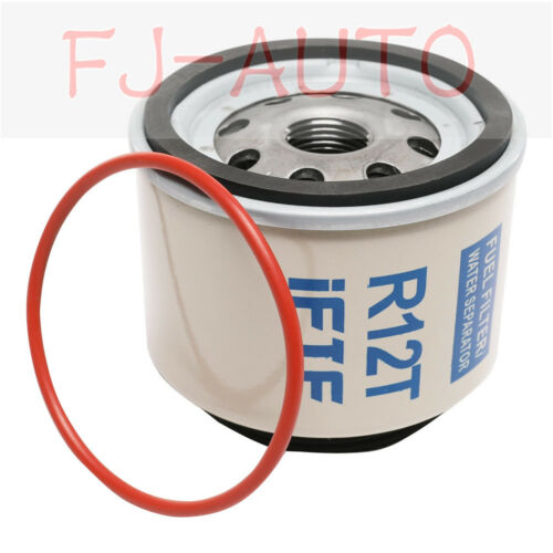 Diesel Fuel Filter//Water Separator-Replacement Filter ONLY R12T