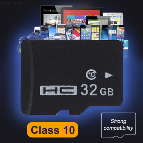 E6A3 32GB TF Card Memory Card Cameras Tablets Videos Mini SD Card Durable
