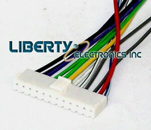 s l300 new car stereo wire harness for pioneer deh p4700 ebay 2004 Ford Explorer Stereo Wire Harness at readyjetset.co