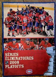 NHL-MONTREAL-CANADIENS-2008-SEASON-TICKET-PLAYOFFS-TICKET-BOOKLET12-034-x-17-034