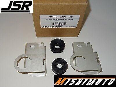 Mishimoto MMRS-MUS-97 Aluminum Radiator Stay Set for Ford Mustang 97-04