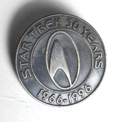 "TRK-30720 Star Trek 30th Anniversary Pewter Pin-1 3//8/"" Pewter"