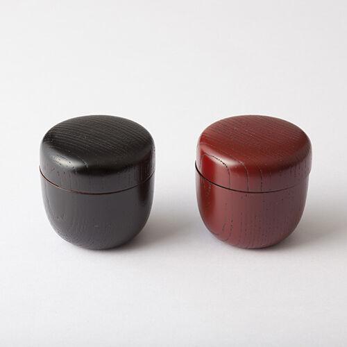 Oshima  KABUKI NATSUME - 2 Farbe - Tea Caddy Storage Canister from Japan