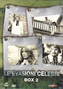 3-Dvd-Cofanetto-LE-EVASIONI-CELEBRI-BOX-02-nuovo-sigillato-1972