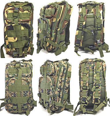 Camouflage Army Rucksack Bundeswehr Tasche Tarn Armee Militär Camo Tarnrucksack