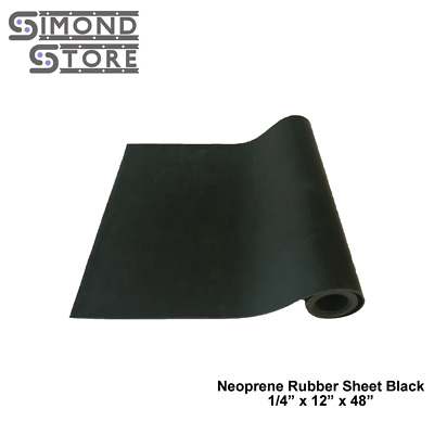 """Neoprene Rubber Sheet 1//16/"""" Thick x 48/"""" wide x 48/"""" lng FREE SHIPPING"""